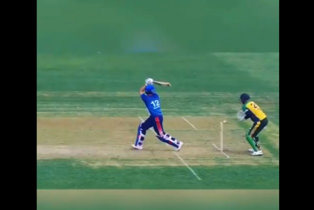 Yuvraj Singh wicket in the first match of GT20
