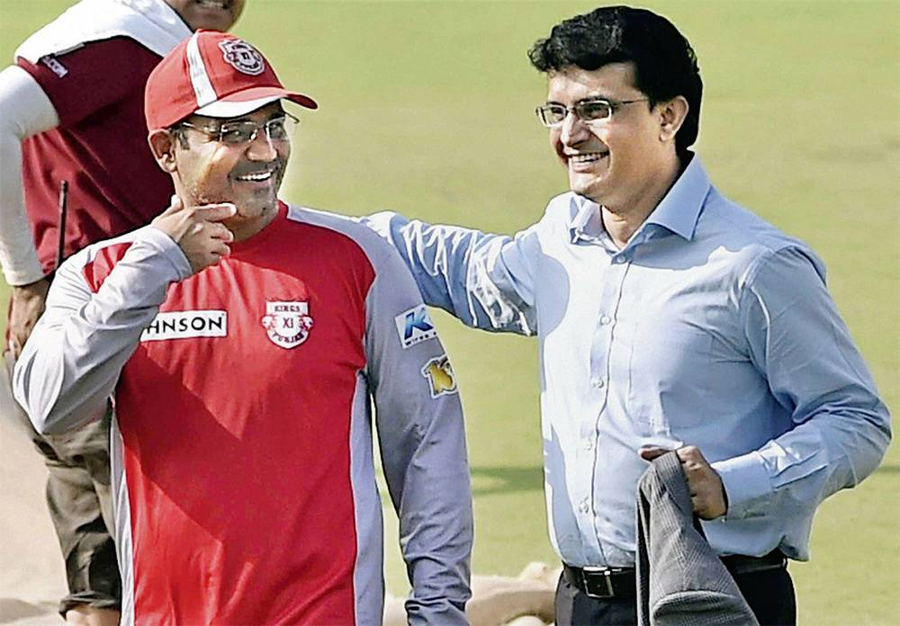Ganguly and Sehwag do not match India New Coach criterion (Photo - Twitter)