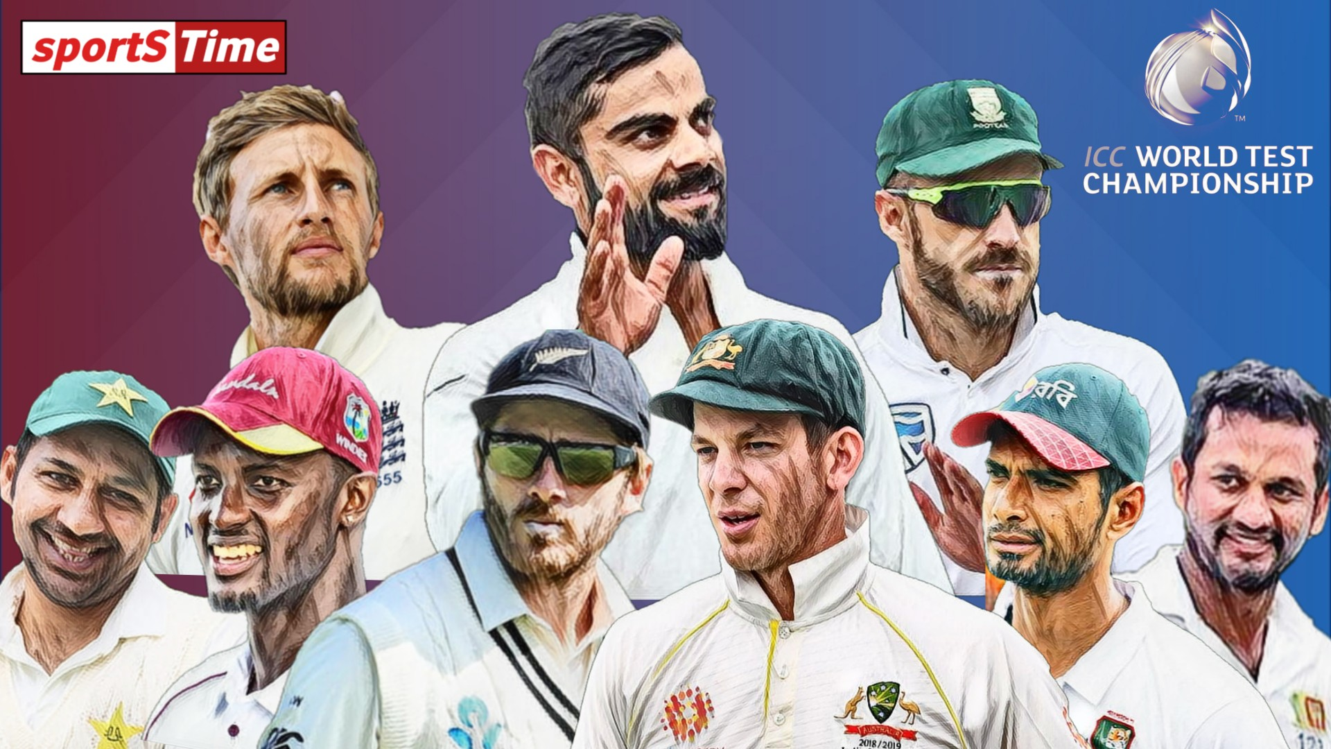 Nine Teams To Participate In World Test Championship.
