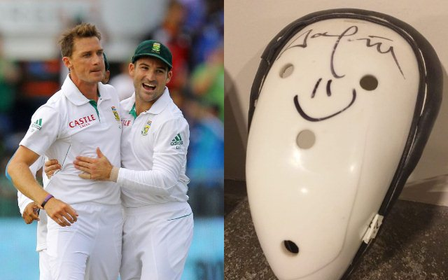 Kane Williamson and Dale Steyn