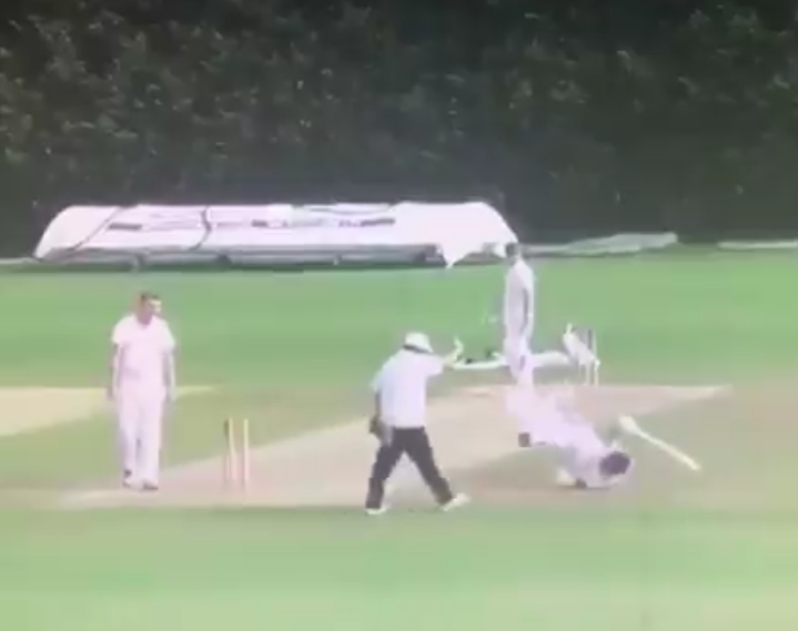 Most Bizarre Run Out