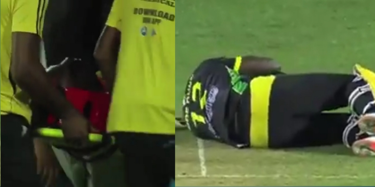 Watch: Jamaican All Rounder Andre Russell Gets Hit On The Head
