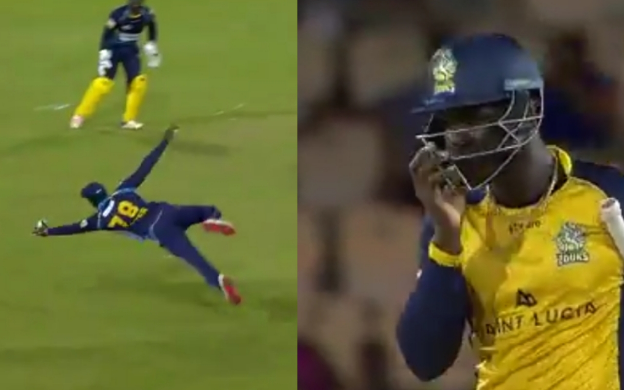 CPL 2019: Barbados's Jonathan Carter Took A Magnificent Catch, WATCH