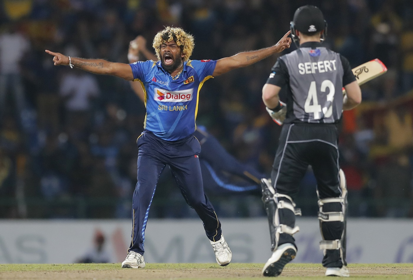 WATCH: Lasith Malinga Takes Four Wickets In Four Balls