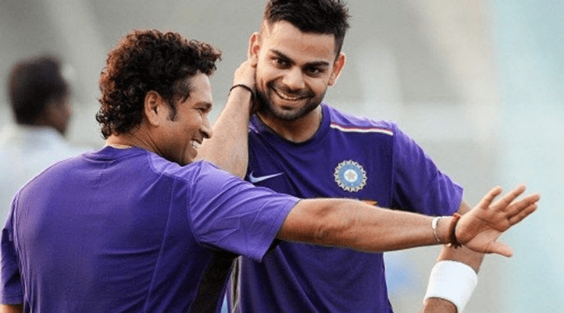 Virat Kohli Reveals What He Gave To Sachin, On The Farewell's Day