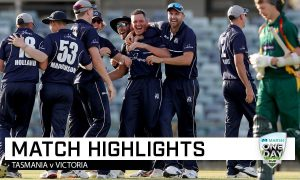 WATCH- The Most Epic End Of The Match In The Cricket History