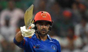 WATCH- Rashid Khan Hits Tennis Ball Style Six During T20I against Zim