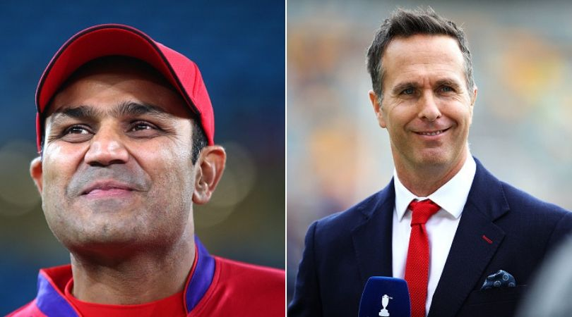 Virender Sehwag Gives Hilarious Reply To Michael Vaughan's B'day Wish