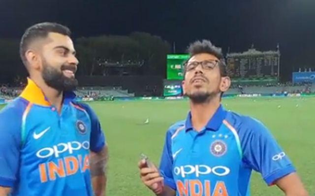 Yuzvendra Chahal Takes A Dig At Indian Skipper Virat Kohli?