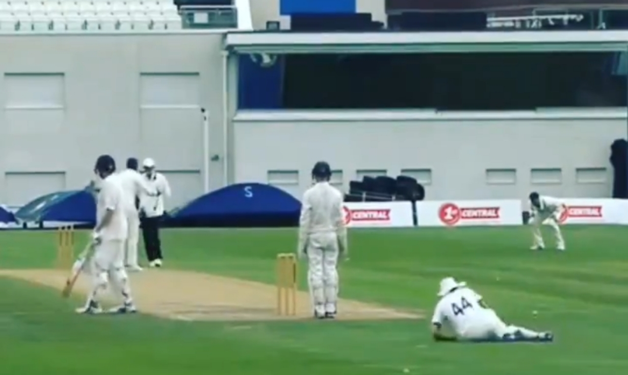 WATCH: Most Bizzare Umpiring Decision Of All Time, LBW To Wide