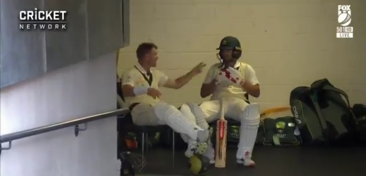 Warner And Joe Uses 'Stone Paper Scissor' Style To Decide Batting Order