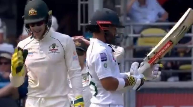WATCH- Tim Paine Sledges Mohammad Rizwan During The First Test