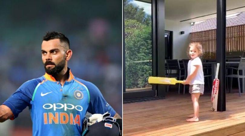 WATCH- David Warner's Daughter Claims To Play Like Virat Kohli