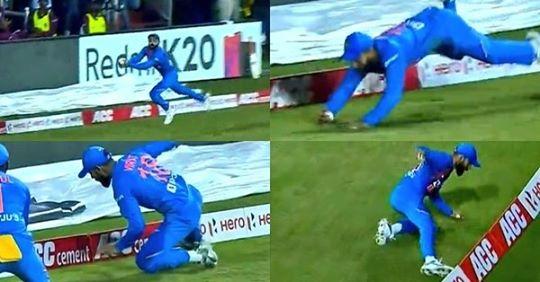 WATCH: Virat Kohli Pulls Off Stunning Catch Against West Indies
