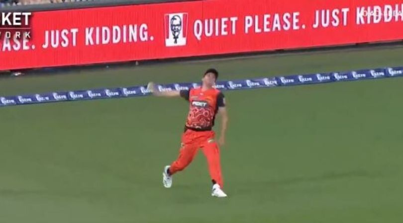Jhye Richardson bowls a throw from boundary line to run-out the batsman: The seventh edition of the Big Bash League is at its apex stage.