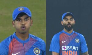 Virat Kohli and Even Shreyas Iyer Himself Amazed After Hitting A Huge Six: Srilanka team is currently on the Tour of India to play the three matches T20Is series.