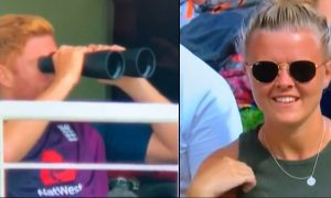South Africa vs England Test Broadcaster Makes Fun Of Jonny Bairstow For Using Binoculars At Dressing Room)