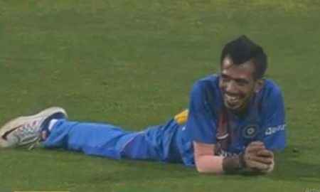 India vs Sri Lanka- Yuzvendra Chahal left in splits after running-out Wanidu Hasaranga: On Friday, India clinched the first bilateral series of 2020 after defeating Sri Lanka in the third and final match of the series in Pune.