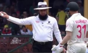 Aleem Dar Fined David Warner and Labuschagne For Running On The Pitch: On Monday, Team Australia won the three matches test series against New Zealand as they clean swiped with 3-0.