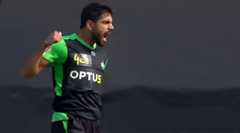 Haris Rauf's death celebration after taking a wicket in BBL 2019: Big Bash League (BBL) 2019 is at its peak stage and teams are trying hard to win the games in order to get into top 5 positions.