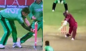 Ireland West Indies suspenseful final over