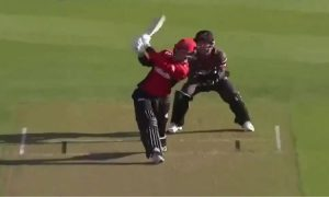 WATCH- Leo Carter hits six sixes off an over in Super Smash League 2019: New Zealand Super Smash League is currently at its apex stage.