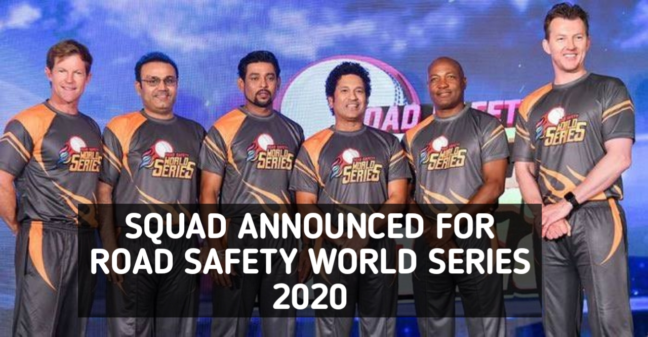 The much-awaited Road Safety World Series will lock horns on March 7, 2020, with the opening match between Sachin Tendulkar led India legends and Brain Lara's West Indies legend.