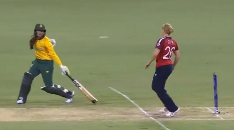 English bowler Katherine Brunt choose not to Mankad the batter Sune Luss in the critical stage of the match.
