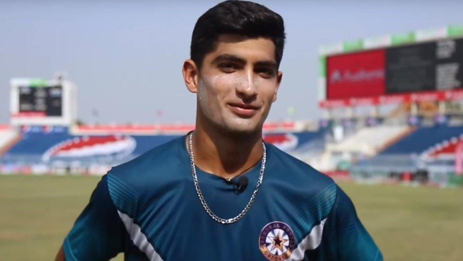Naseem Shah castled Islamabad United opener Luke Ronchi's stumps in some fashion.