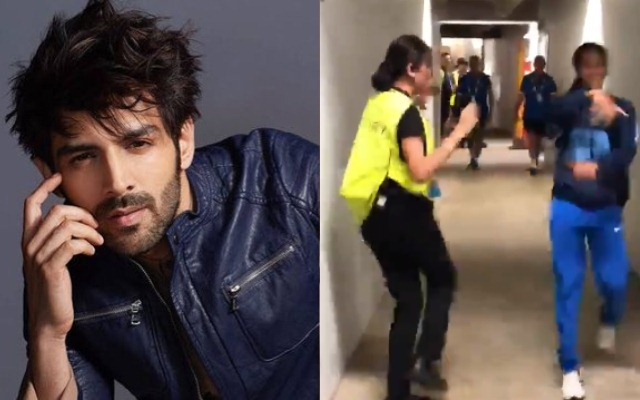 Kartik Aryan Mesmerized By Female Security Gaurd's Dance With Jemimah Rodrigues: On Thursday, after claiming the third consecutive win in the ongoing ICC Women's T20 World Cup