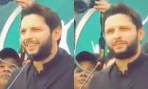 Shahid Afridi, while addressing the fans, hilariously trolled himself for his batiing. Watch video here, Boom Boom Afridi....