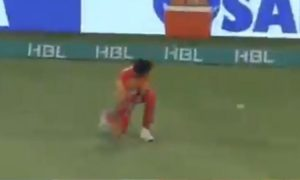 Akif Javed fielding