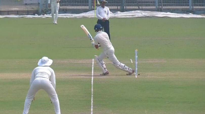 Sudip Chatterjee Survives Despite Getting Hit Wicket In Bengal vs Karnataka Ranji Semi Final