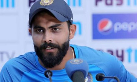 COVID 19- Ravindra Jadeja Urg People To Stay At Home In His Own Style: