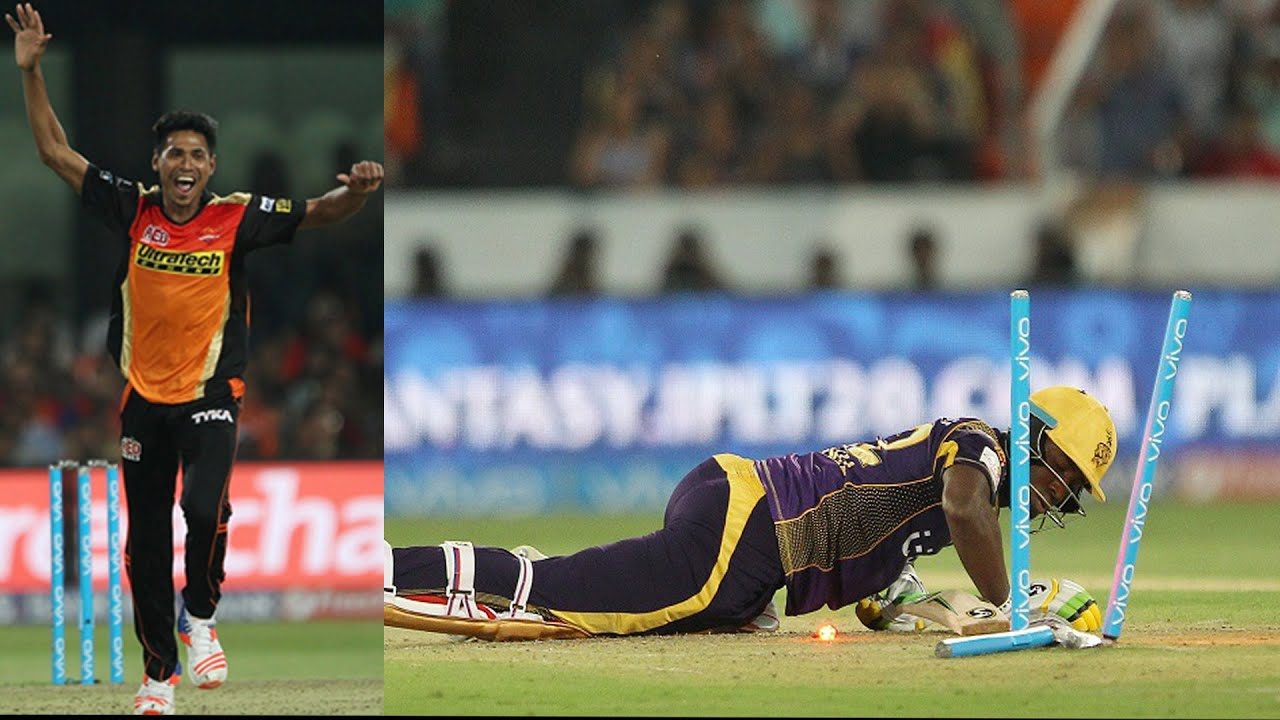 Russell floored by Mustafizur yorker (Pic - Twitter)