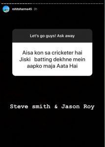 Rohit Sharma India cricketer