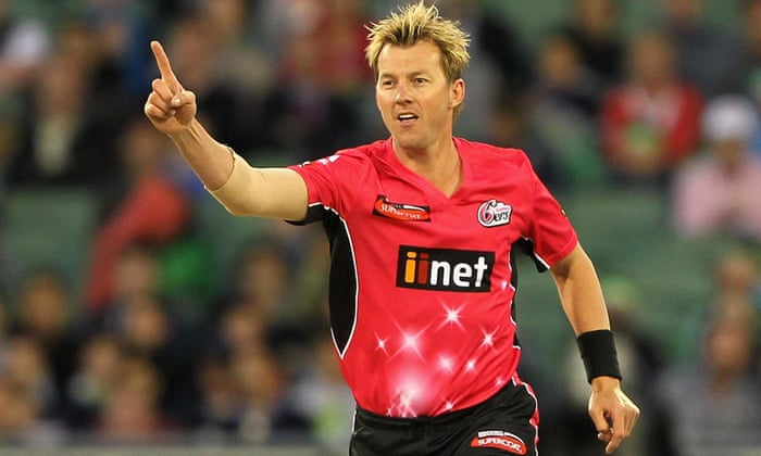Brett Lee fan