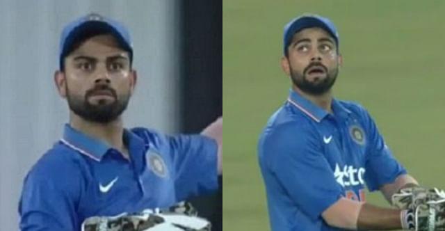 Virat Kohli wicket keeper