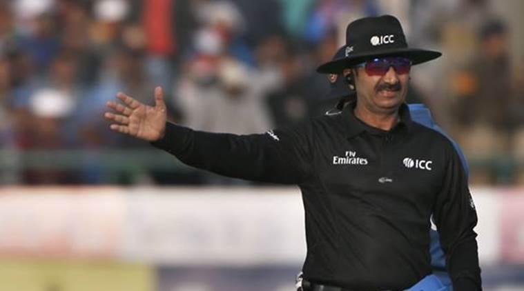 Umpire Anil Chaudhary