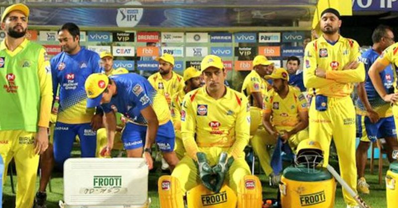 Chennai Super Kings IPL 2020
