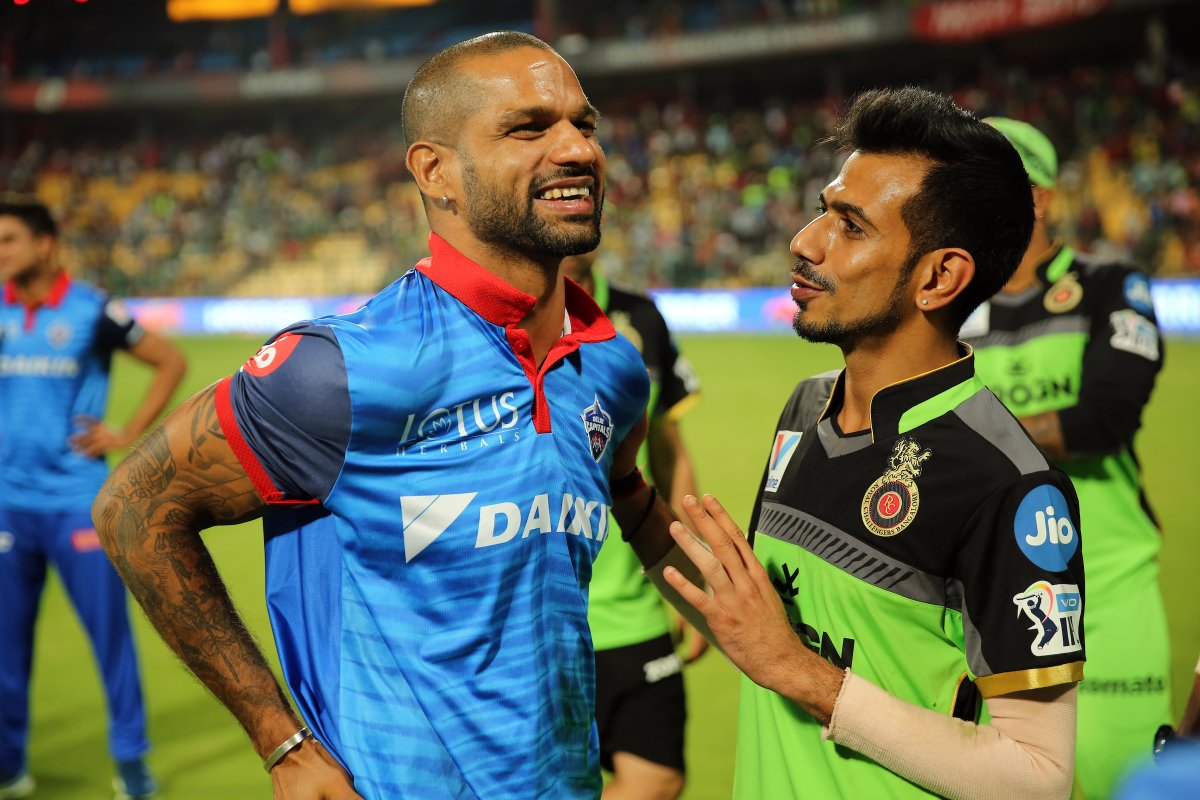 Shikhar Dhawan hilariously trolls Yuzvendra Chahal over 'hair grown' comment