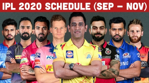Dream 11 IPL 2020 full schedule Pdf download and team news