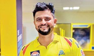 Suresh Raina reacts emotionally as Chennai Super Kings beat Mumbai Indians in IPL 2020 opener