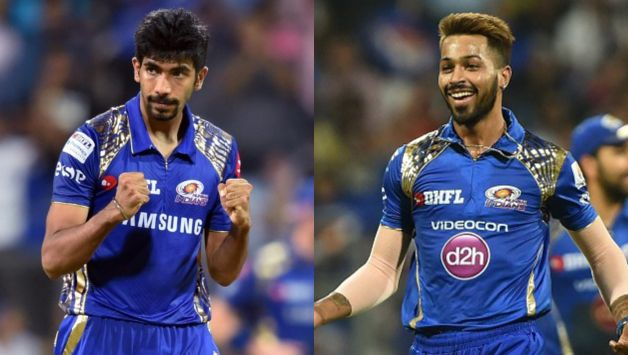 Hardik Pandya reacts furiously after Jasprit Bumrah refrains from diving to stop the ball