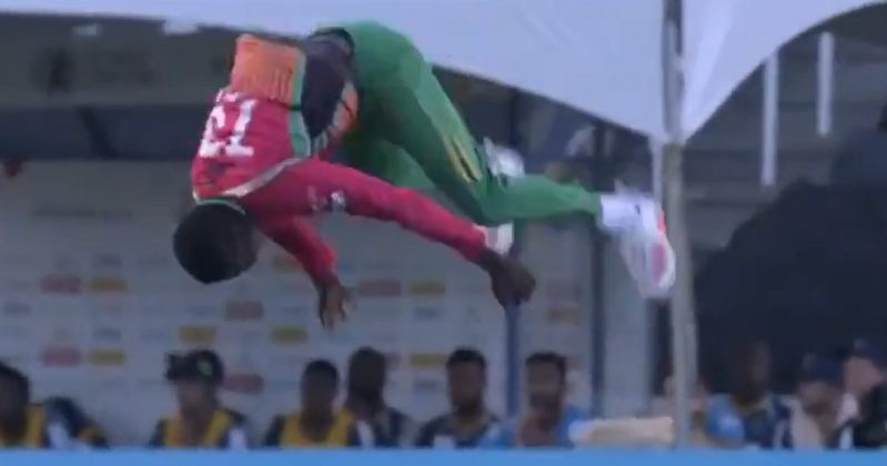 Kevin Sinclair in CPL 2020