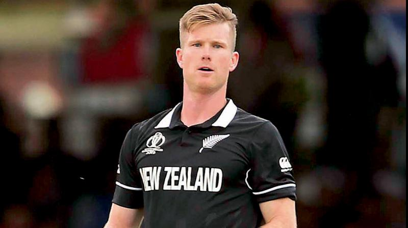 Jimmy Neesham posts a tweet showing his frustration after another Super Over loss