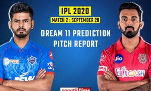 the Delhi Capitals will lock horn against the Kings XI Punjab at the Dubai International Stadium, here you will get to know about Pitch Report and Records and also about the team news.