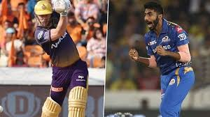 Chris Lynn And Jasprit Bumrah