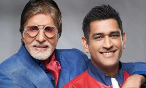 Amitabh Bachchan and MS Dhoni