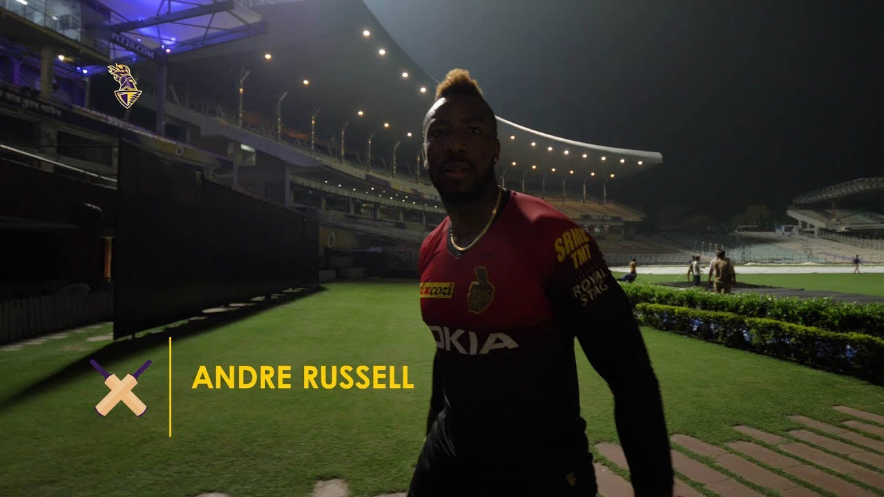 SMASH !!! Andre Russell's powerful hit during net practice session shatters camera